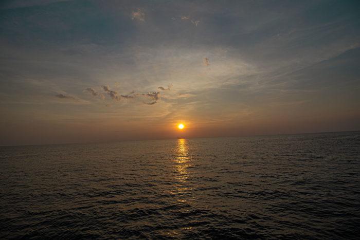 Sonnenuntergang Phi Phi Island