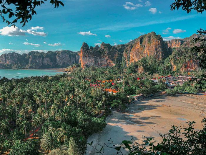 Thailand Reisebericht Krabi Rai Leh