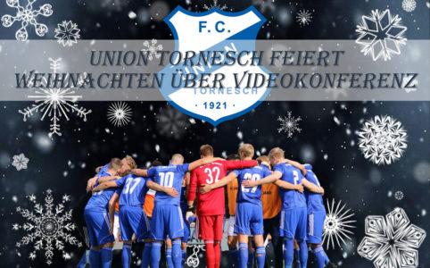 Union Tornesch Fußball Weihnachtsfeier online über Zoom