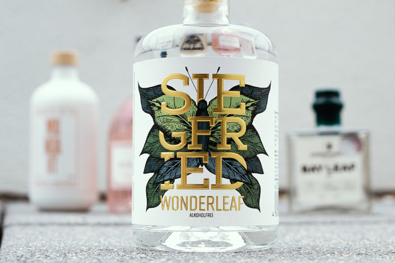 Alkoholfreier Gin Siegfried Wonderleaf